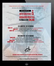 DIPLOMADO EN ARTES CREATIVAS & ADORACIÓN PROFÉTICA - Entrenamiento ONLINE de 48 semanas (Danza Expresiva, Pandero, Abanicos, Throw Streamers, Banderas, Vara, Danza Profetica, Danza de Guerra y mucho mas)