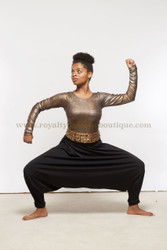 Dance Black Harem pants by Delki Rosso Royalty Designs Boutique worship, praise, danza, cristiana, moderna