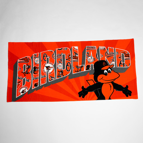 First 15,000 Fans 15 & Older receive an Orioles Beach Towel.