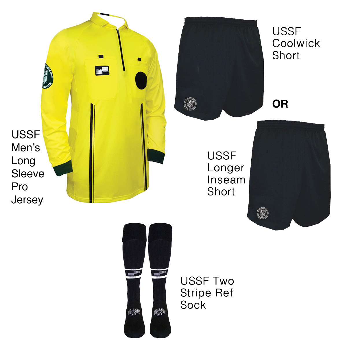e2404c4f59f USSF Pro Long Sleeve Kit - Official Sports International