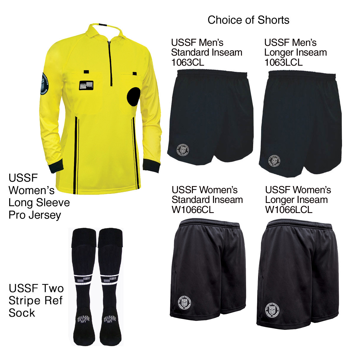 ba15572aaef USSF Women s Pro Long Sleeve Kit - Official Sports International