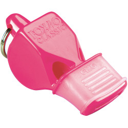 1400MGP Pink Fox 40 Whistle with Mouthgrip