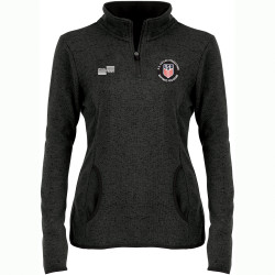 W2321CL USSF Women's Heathered Fleece Pullover