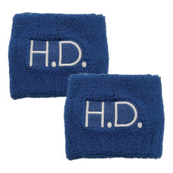 1443HD Blue HD Wristband Set of 2