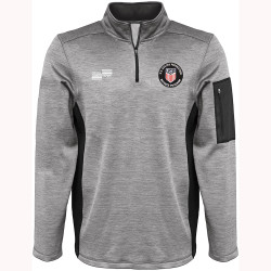 2319CL USSF Fleece Lined Quarter Zip