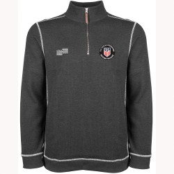 2325CL USSF Rib Knit Quarter Zip