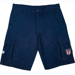 1162NN NISOA Navy 8 Pocket Cargo Short