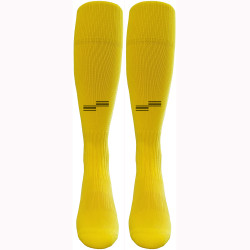 1303Y Solid Yellow Sock with Black OSI Logo