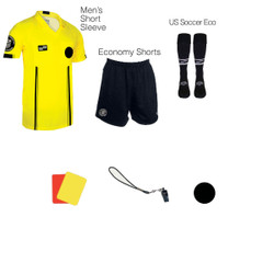 1817Y Men's Yellow 7 Piece USSF Starter Kit