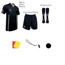 1817BLK Men's Black 7 Piece USSF Starter Kit