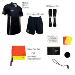 1816BLK Men's Black 10 Piece USSF Starter Kit