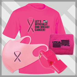 BCKIT4 Men's  Breast Cancer Awareness 4 PC Kit