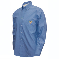 2061BN NISOA Blue Men's Dress Shirt