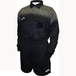 5020NC NISOA Coolwick LS Black Grid Shirt