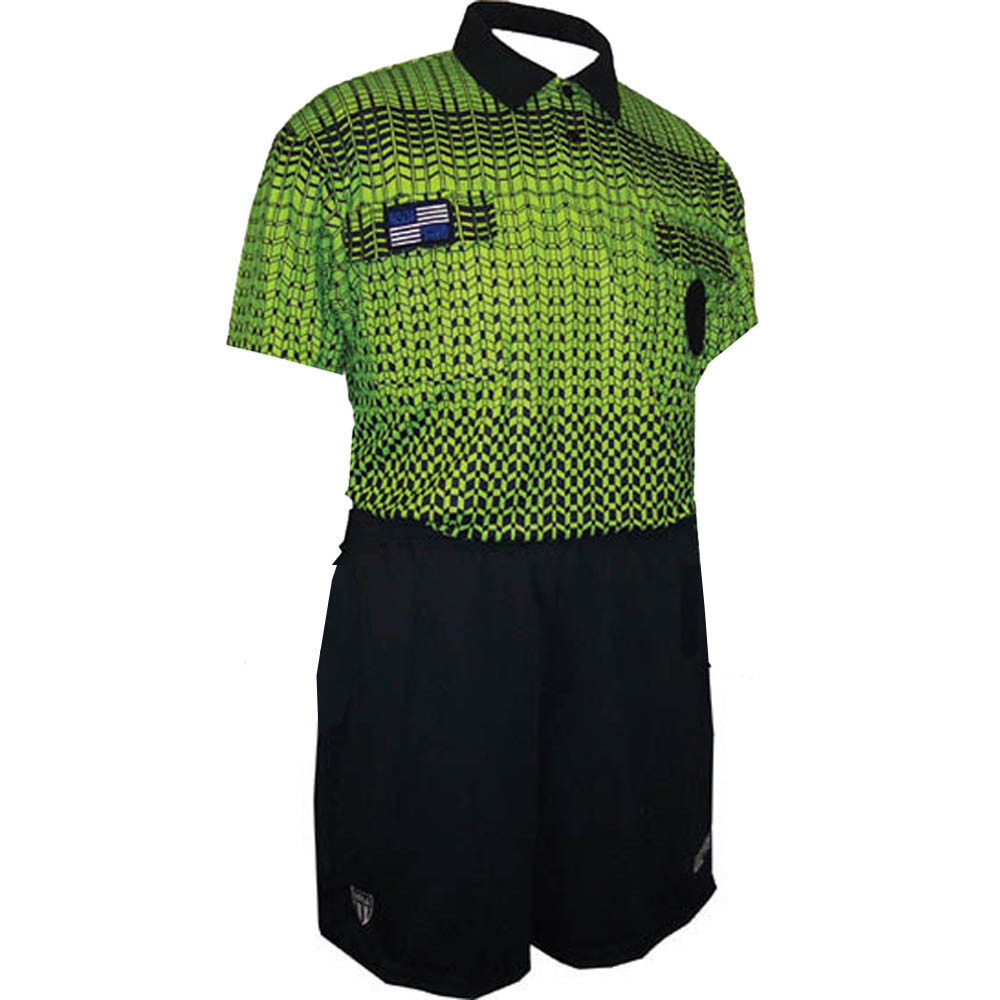 4a963967bc3 5021NC NISOA Coolwick SS Green Grid Shirt - Official Sports International