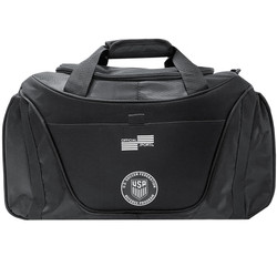 1661 Black Two Tone Duffel Bag