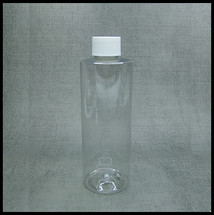 Clear PET 250ml Screw Top Bottle..
