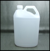 5  Litre HDPE Natural Empty Jerry Can Screw Lid