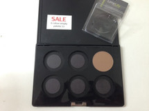 Empty 6 Hole Plastic Palette. Carton of 12