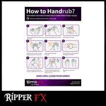 How to Hand Sanitise Poster (Download)