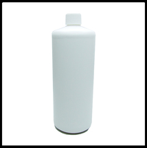 1 Litre HDPE White Empty Bottle Screw Lid.
