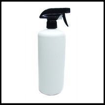 1 Litre HDPE White Empty Bottle Trigger Spray.