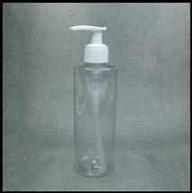 Clear PET 250ml White Lotion Pump