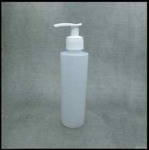 HDPE Natural 250ml White Lotion Pump