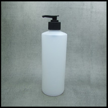 500ml HDPE Bottle With Black Lotion Pump