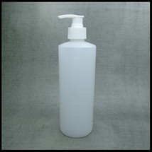 500ml HDPE Bottle With White Lotion Pump