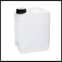 20 Litre Drum Cube White with Tamperproof Cap