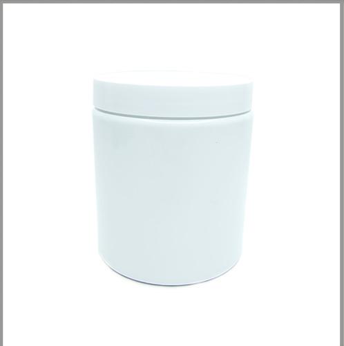 Gloss White 600ml Tall Jar