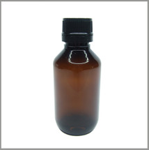 Amber Veral 100ml PET Bottle w/ Tamper Proof Cap