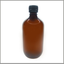 Amber Veral 500ml PET Bottle w/ Tamper Proof Cap