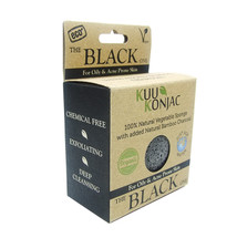 KUU Konjac Sponge with Bamboo Charcoal.