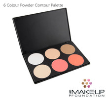 DAZED 6 Colour Contour Palette
