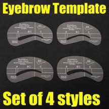 LimeLily Eyebrow Stencils