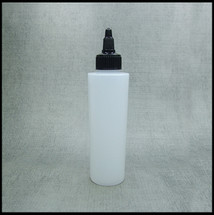Empty 150ml Twist Top HDPE Bottle.