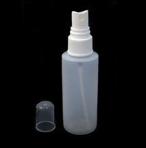 Empty 100ml Spray bottle. HDPE White