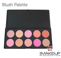 Dazed 10 Colour Powder Blush Palette