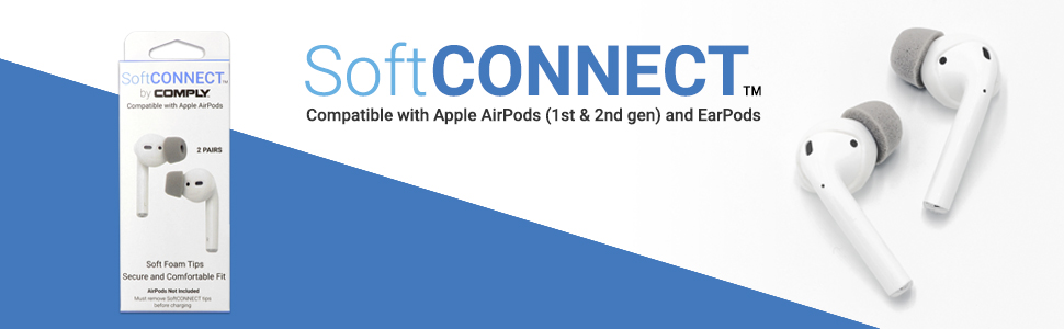 Comply Foam Tips for Apple AirPods
