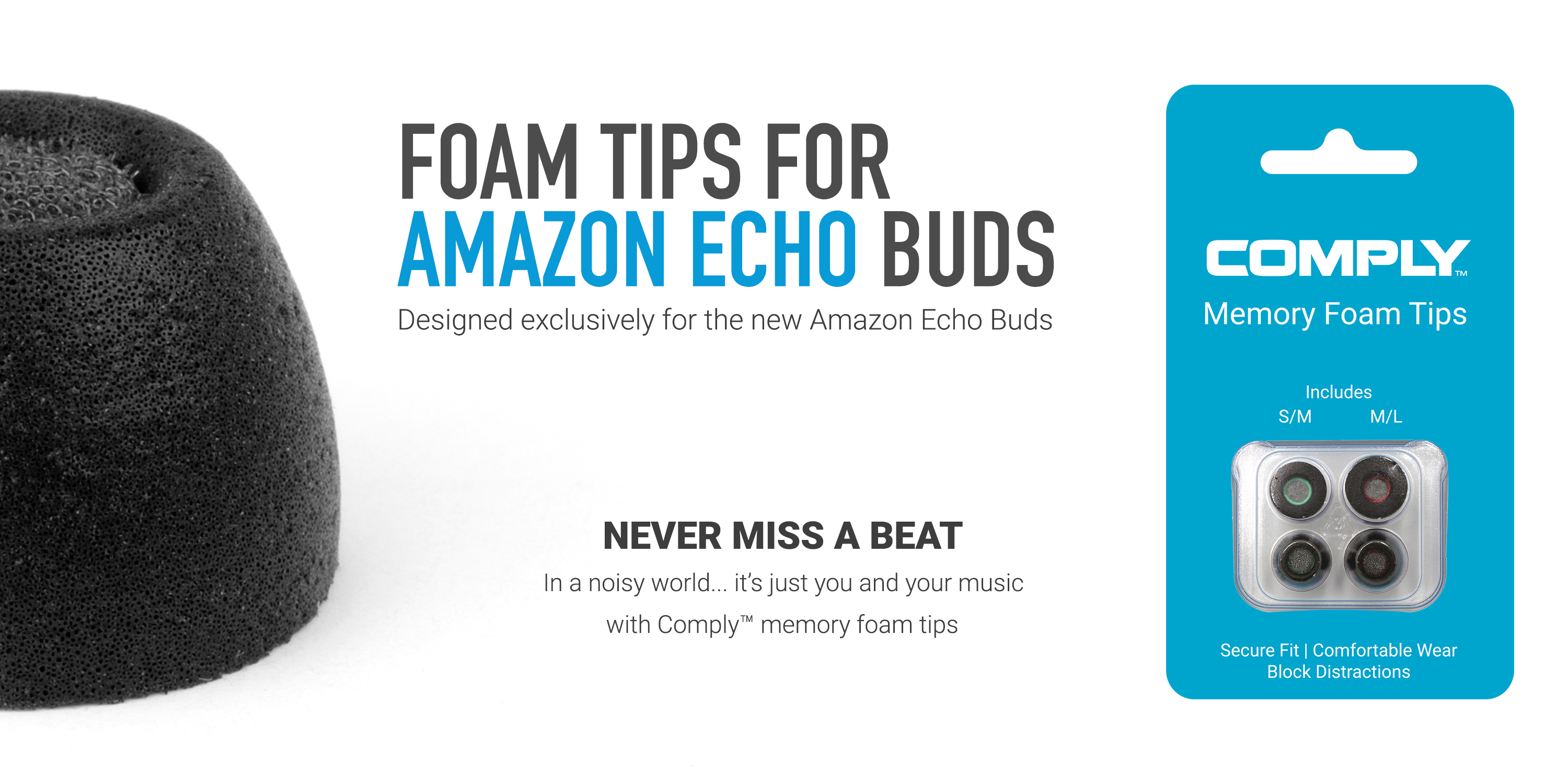 Comply Tips for Echo Buds