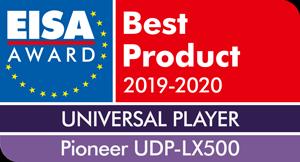 EISA award 2019-2020 UDPLX500