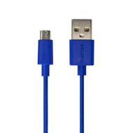 Buddee Micro-USB to USB TPE Round Cable 1m - Blue - BD403040-BL