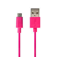 Buddee Micro-USB to USB TPE Round Cable 1m - Pink - BD403040-PK