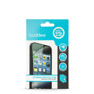 Buddee iPhone 5/5c/5s/SE Clear Screen Protector 4 Pack - Clear