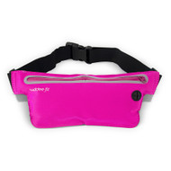 Buddee Fit Water Resistant Waist Pouch Single Pocket - Pink