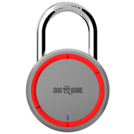 D&B Locksmart Bluetooth iOS and Android - Silver - DAB-LS001