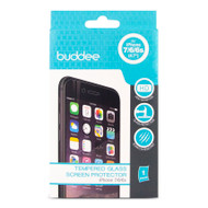Buddee iPhone 8/7/6/6s Tempered Glass Guard - Clear