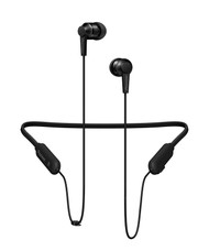SE-C7BTK Black wireless neckband headphones